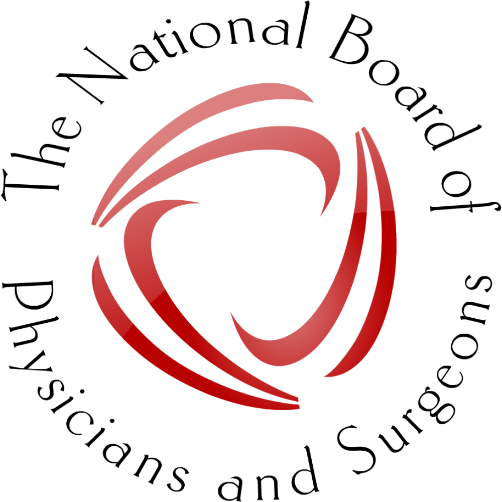 Logoblackg the national board of physicians and surgeons nbpas is committed to providing certification that ensures physician compliance with national standards and xflitez Choice Image